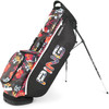 Ping Hoofer Lite Personalized Stand Bags - Black / Tropic / White