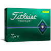 Titleist Personalized AVX Yellow Dozen Golf Balls 2020