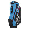 Callaway Chev 14 Cart Bag 2021 - Black / Cyan / Fire