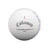 Callaway Chrome Soft X LS Triple Track Dozen Golf Balls - White