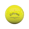Callaway Chrome Soft X LS Triple Track Dozen Golf Balls - Yellow