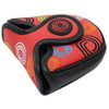 Odyssey Tour Swirl Mallet Putter Headcover - Red