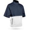 Sun Mountain Stratus Short Sleeve Pullover - Navy / White / Red