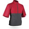 Sun Mountain Monsoon Short Sleeve Pullover - Red / Steel