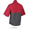 Sun Mountain Monsoon Short Sleeve Pullover- Red / Steel