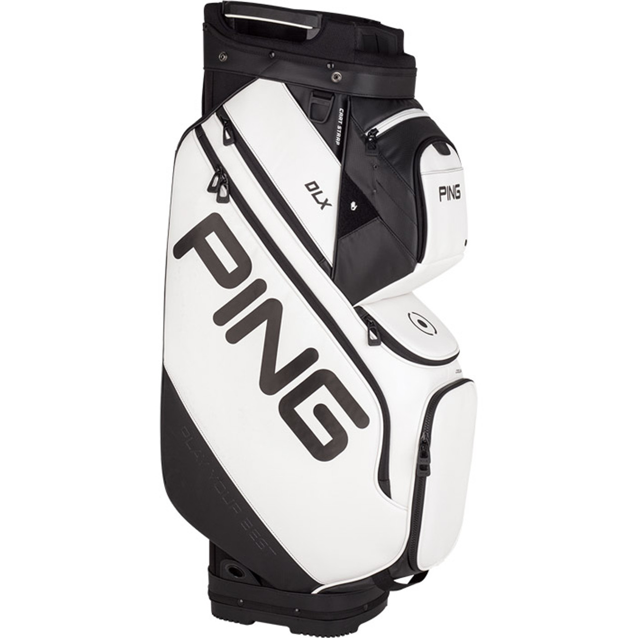 Ping DLX Personalized Cart Bags - White