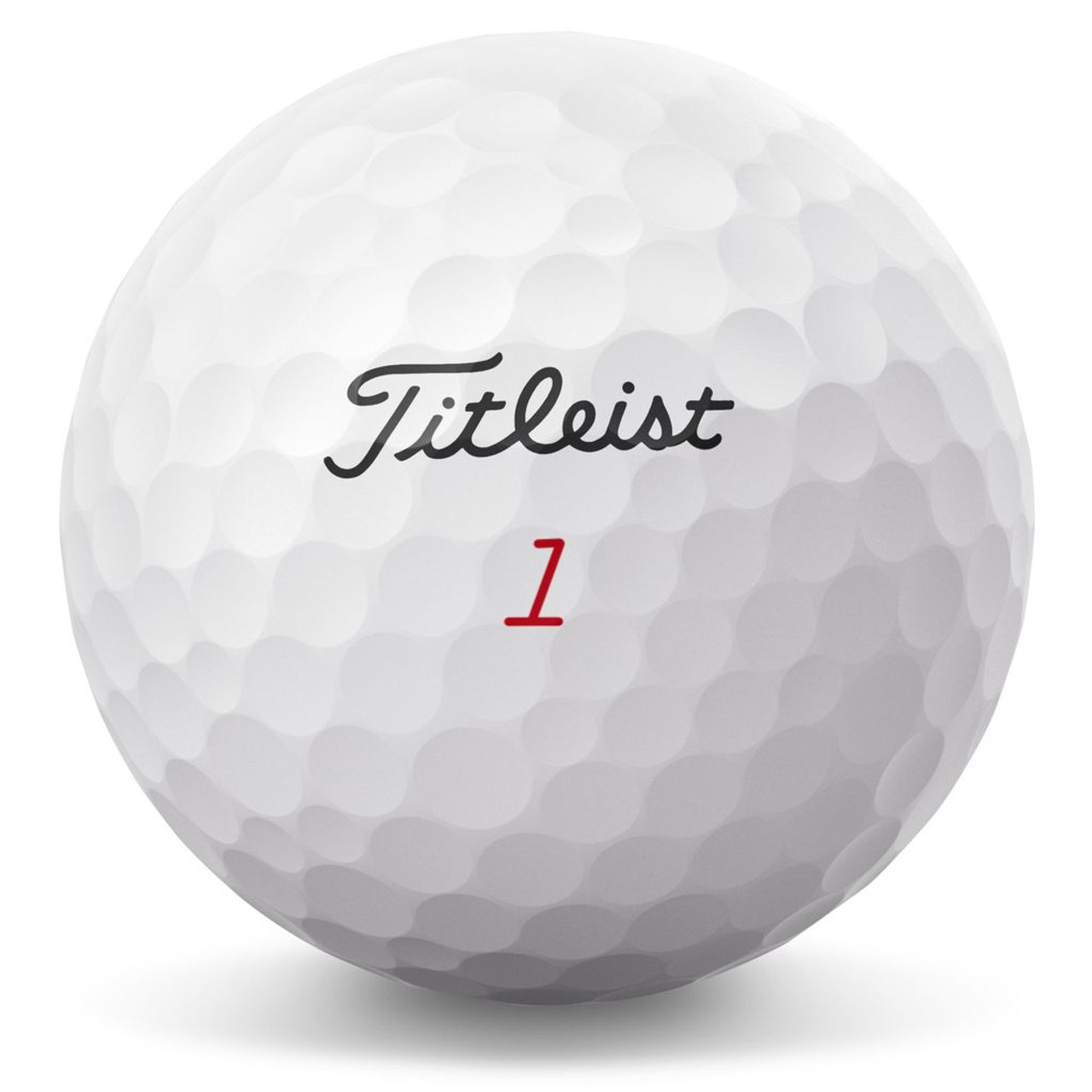 Titleist Personalized Pro V1X Low Numbers (#1 - #4)