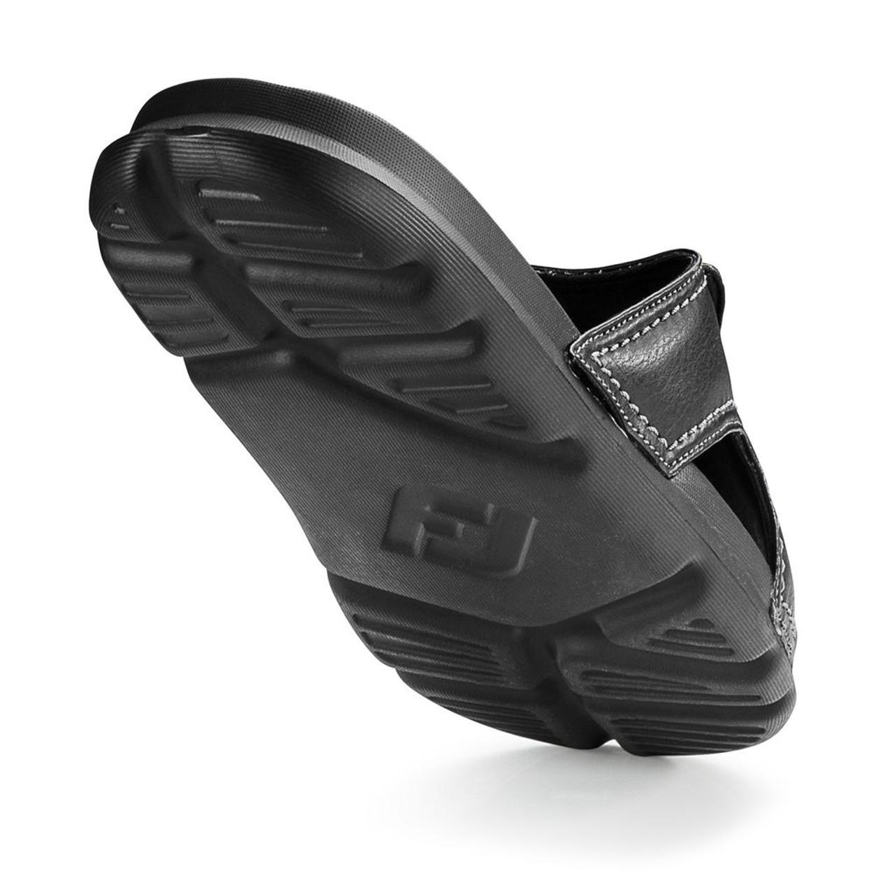 FootJoy FJ Slide - Black / Charcoal (62904)