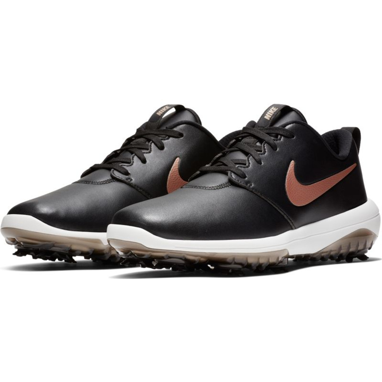 7a33e4577282 ... Nike Womens Roshe G Tour Golf Shoes. Previous. Black   Red Bronze    Summit White