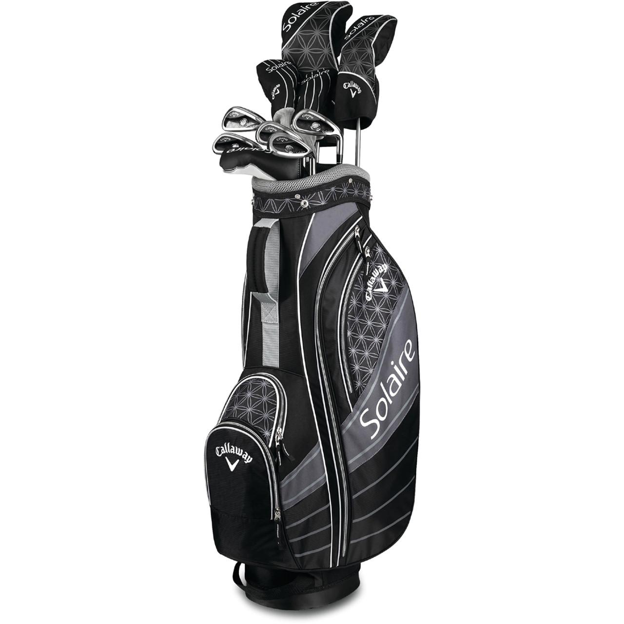 Callaway Womens Solaire 11 Piece Golf Black Set