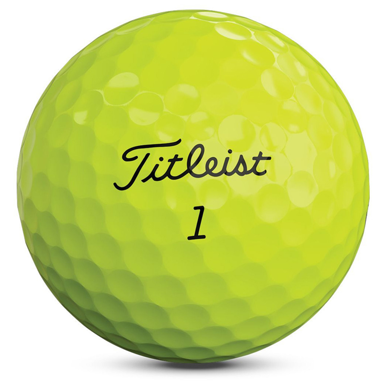 Titleist Personalized Pro V1 Yellow Dozen Golf Balls