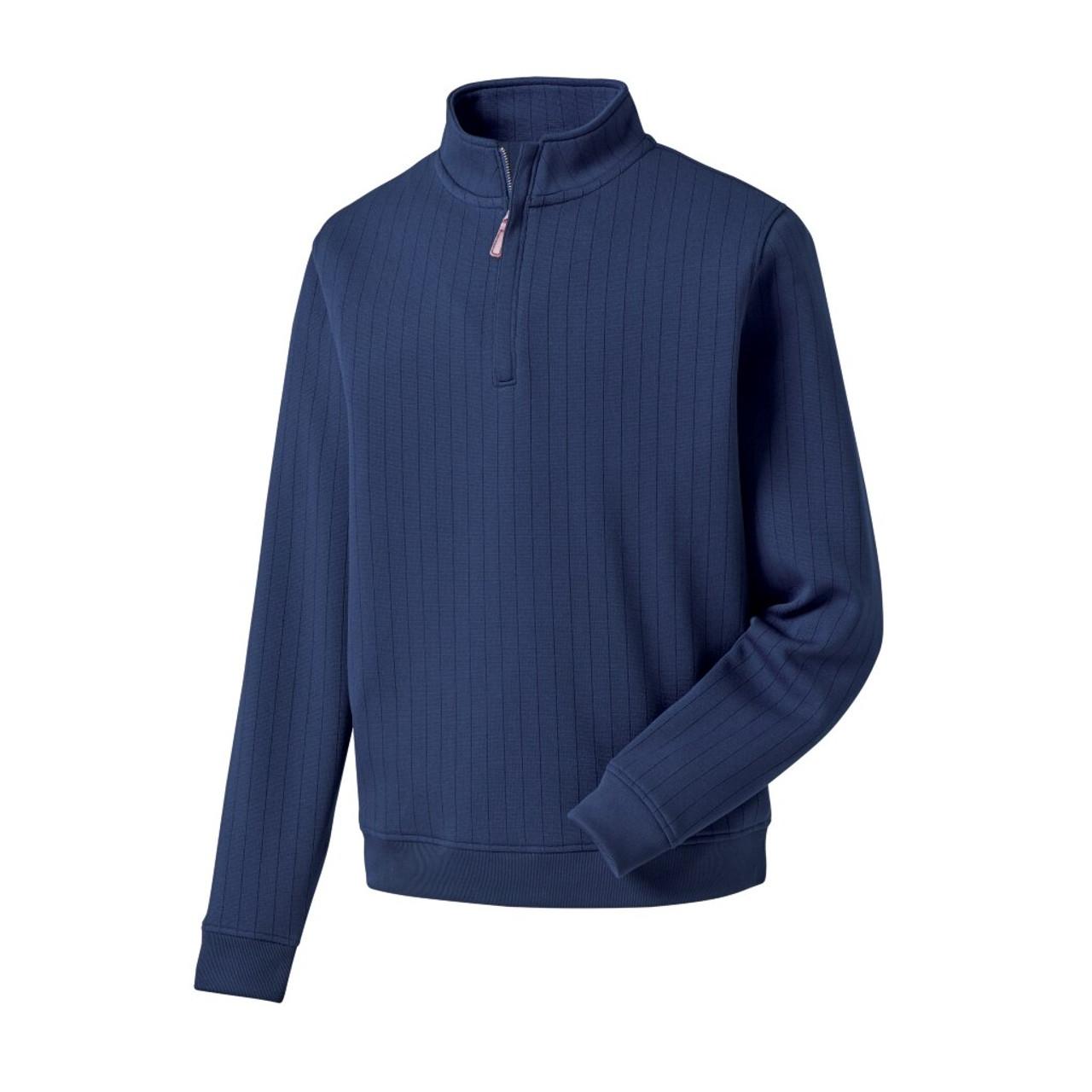FootJoy Drop Needle Half-Zip Pullover - Navy (27271)