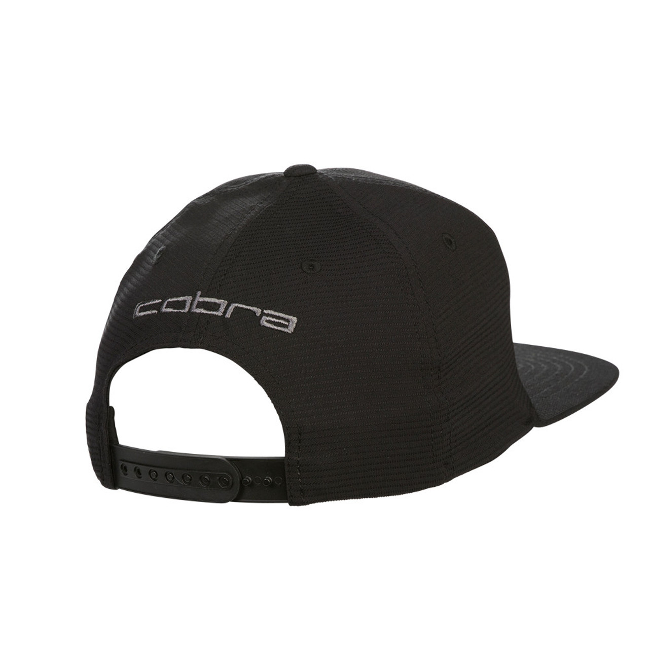 Cobra Tour Snake Snapback Caps - Black