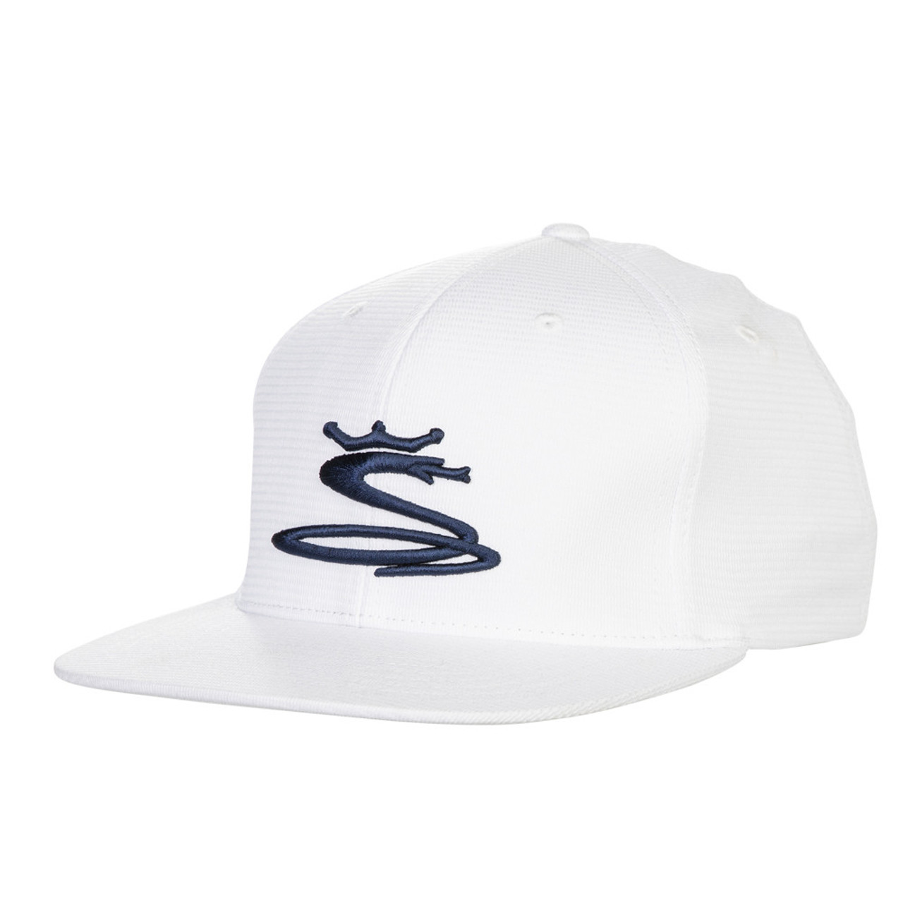 Cobra Tour Snake Snapback Caps - White / Peacoat