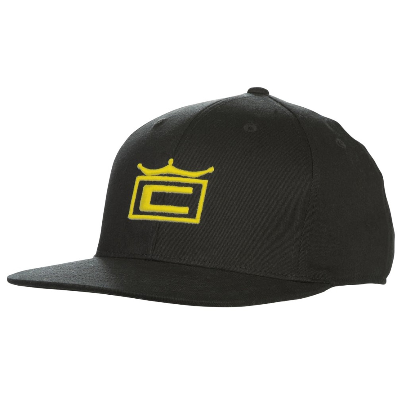 Cobra Tour Crown Snapback Cap - Black / Yellow