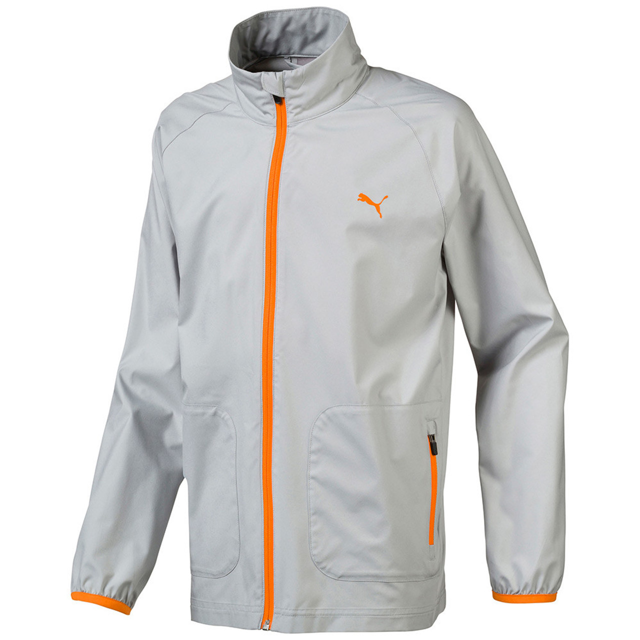 Puma Boys Wind Golf Jacket - Quarry