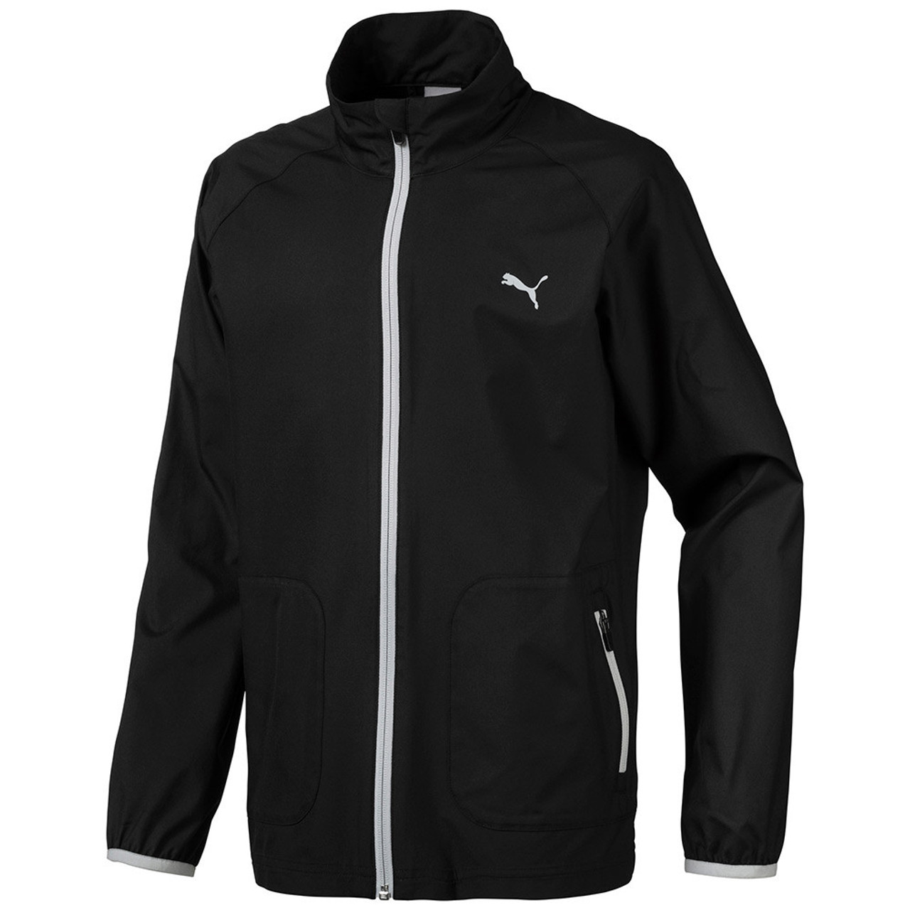 Puma Boys Wind Golf Jacket - Puma Black
