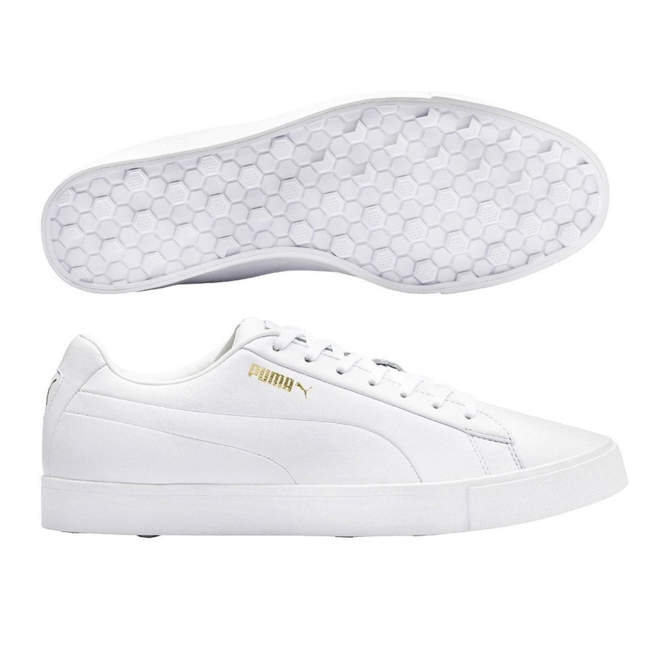 Puma Original G Golf Shoes - White