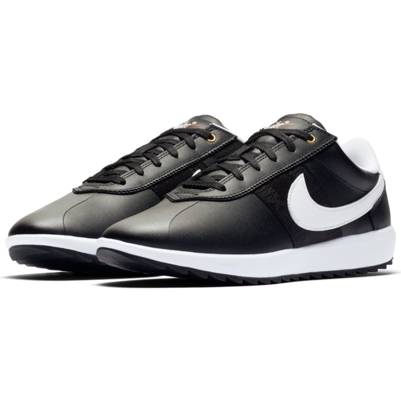 Nike Womens Cortez G Golf Shoes - Amethyst Tint / White Nike Womens Cortez G Golf Shoes - Black / White / Metallic Gold