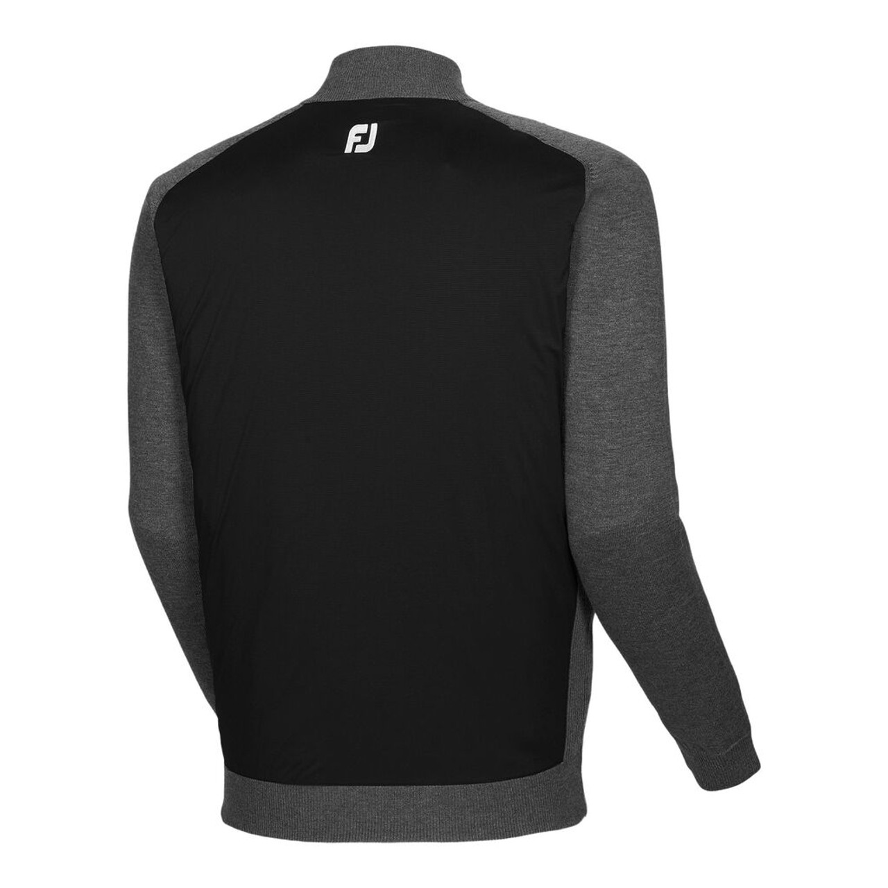 FootJoy Tech Sweater - Black / Heather Charcoal (25072)