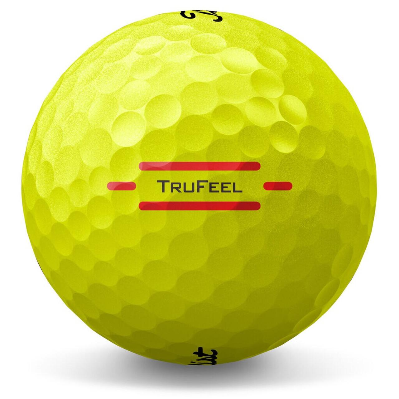 Titleist TruFeel Dozen Golf Balls - Yellow