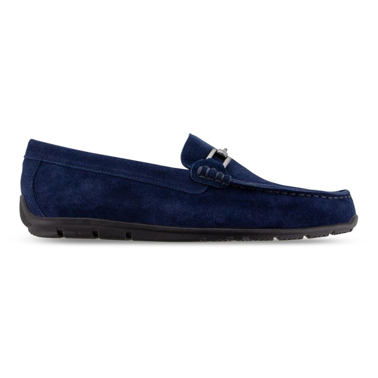 FootJoy Club Casuals Suede Loafers - Blue Suede (79062)