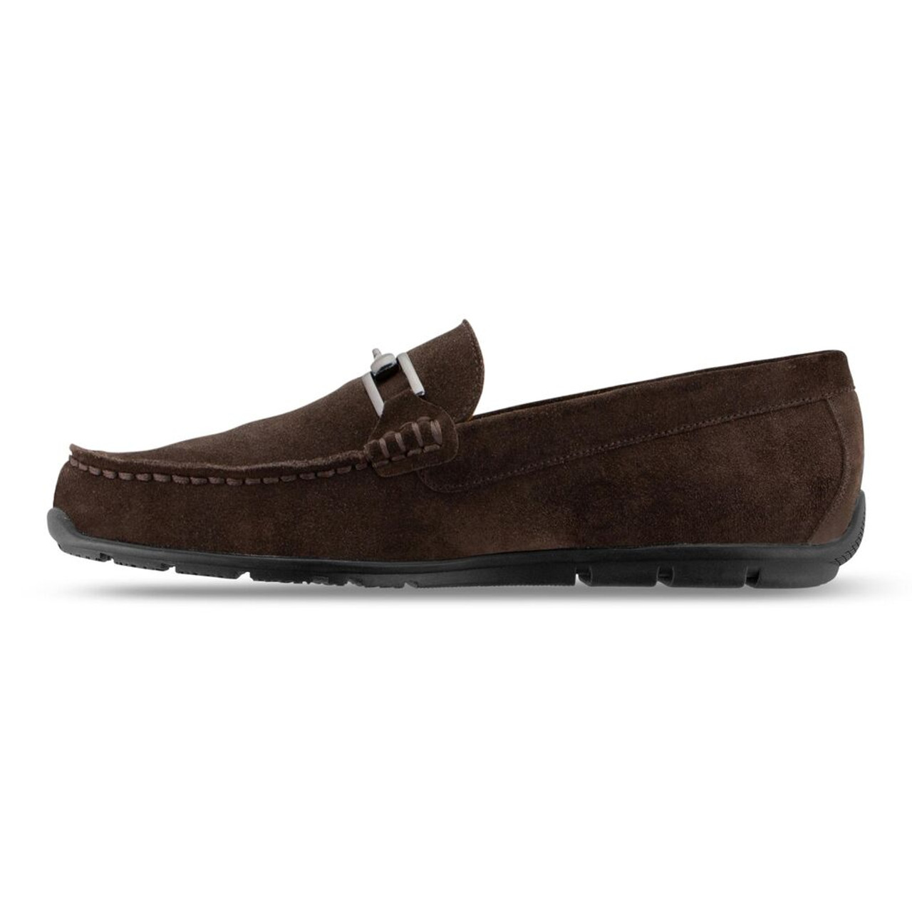 FootJoy Club Casuals Suede Loafers - Chocolate (79063)