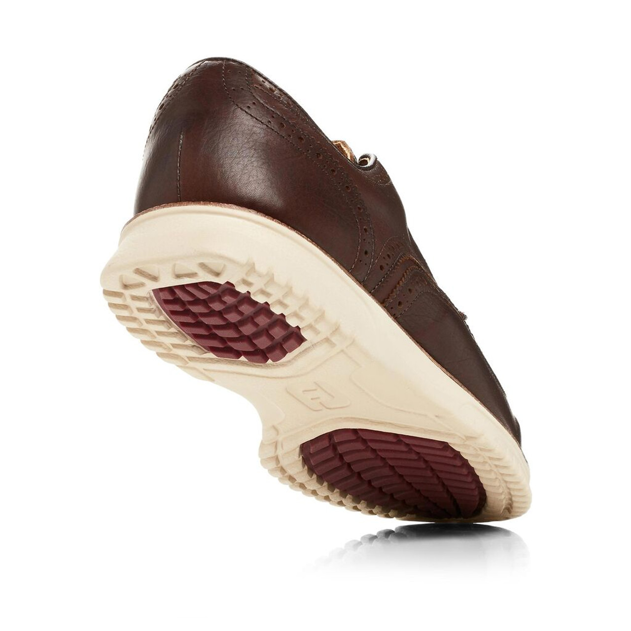 FootJoy Club Casuals Wing Tip Golf Shoes - Brown (79057)
