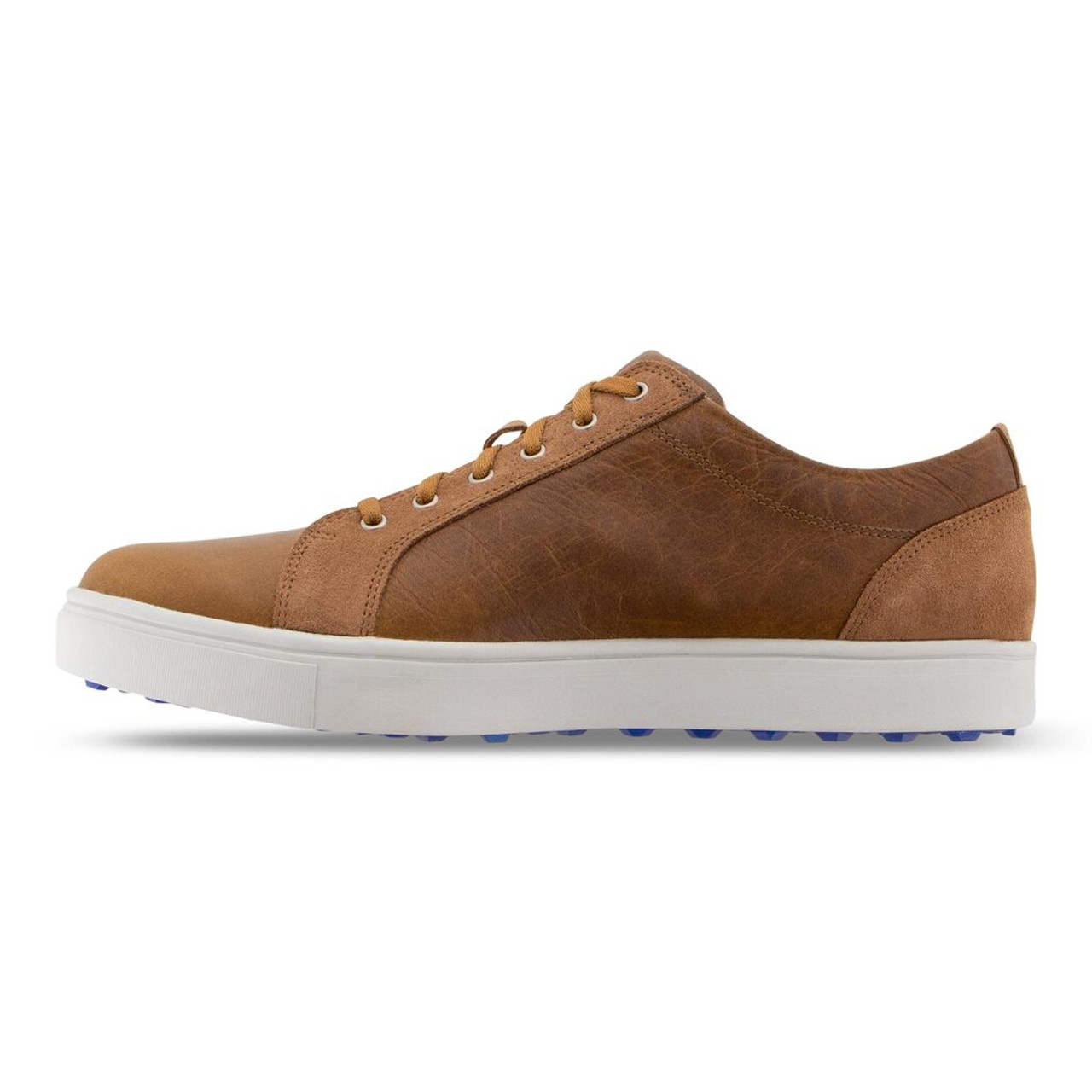 FootJoy Club Casuals Blucher Golf Shoes - Taupe (79055)
