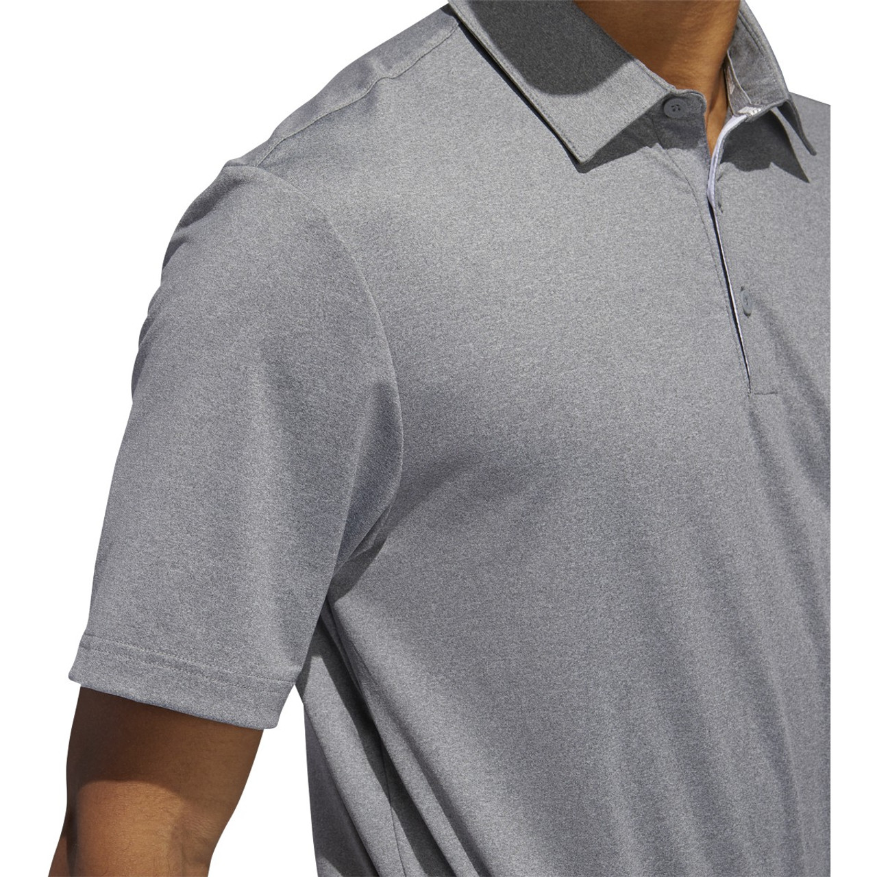 Adidas Ultimate 365 2.0 Heather Polo - Grey Three Heather