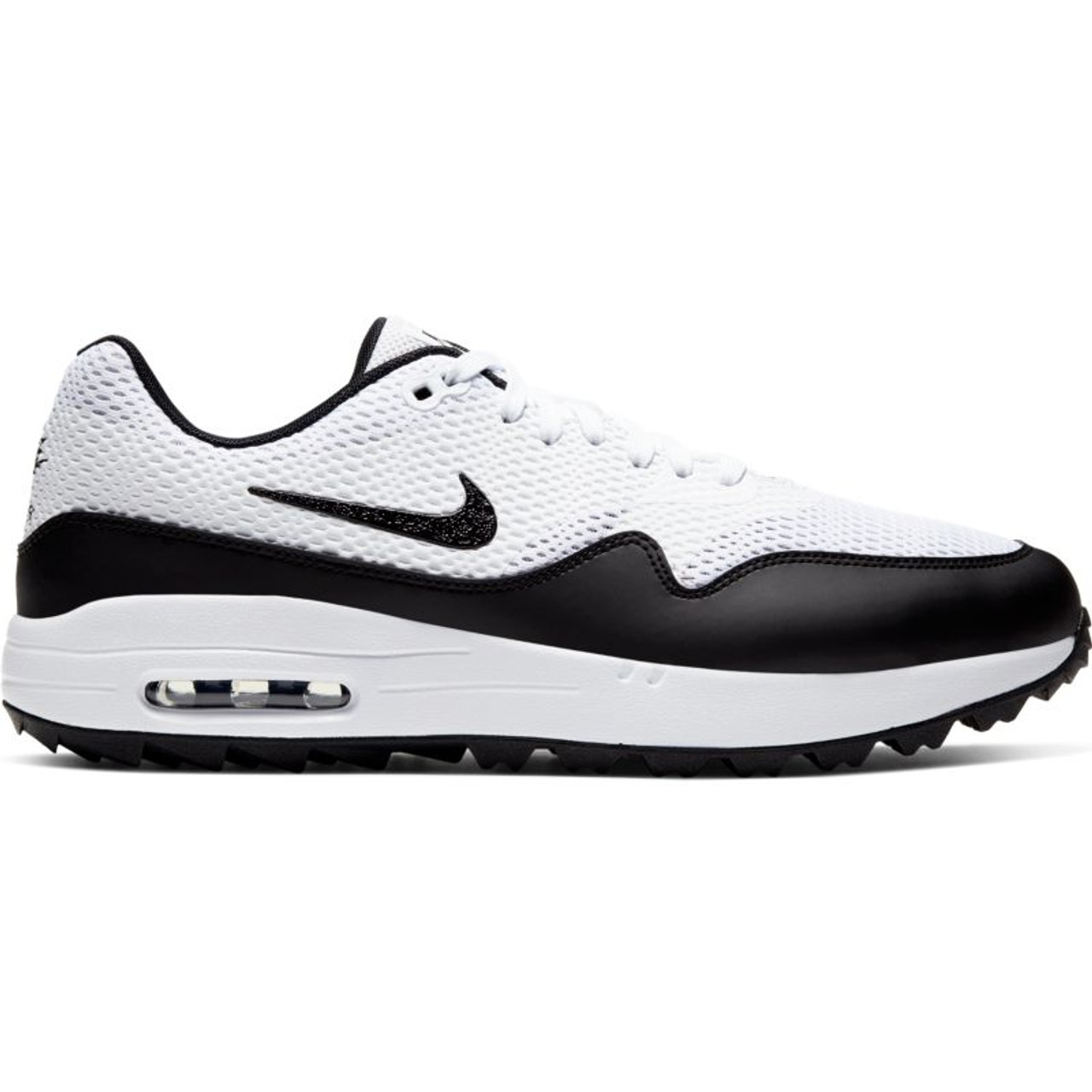 nike air max 1 grey white black