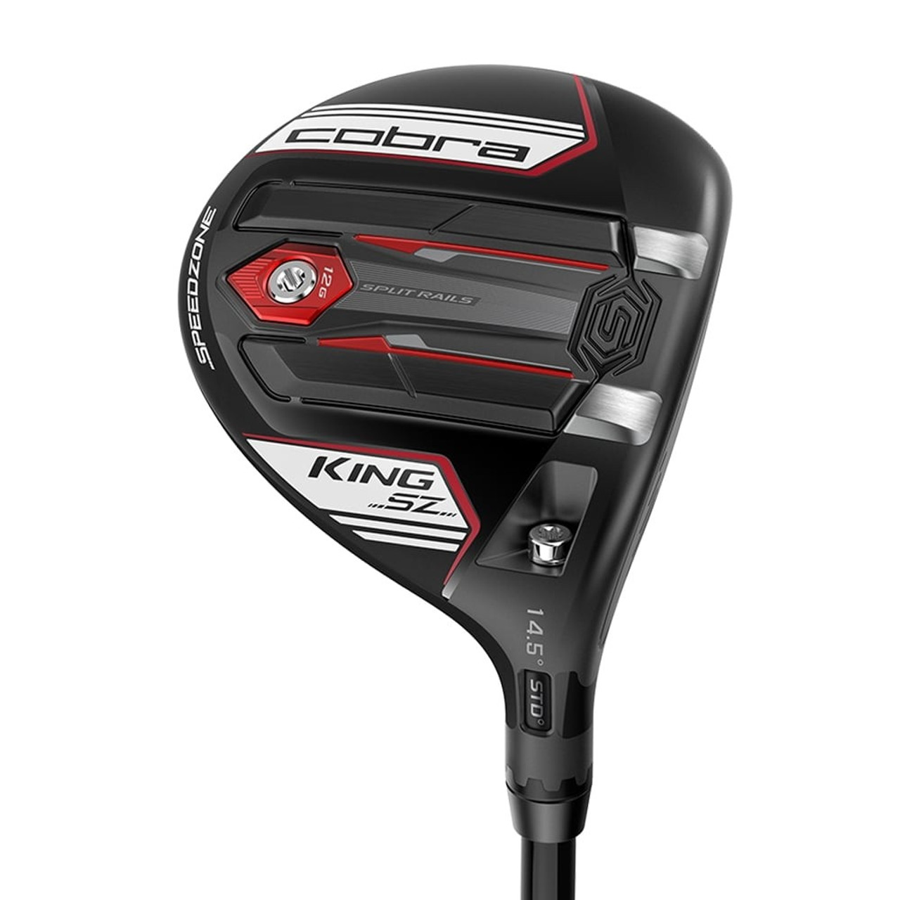 Cobra King SPEEDZONE Fairway Woods - Matte Black / White