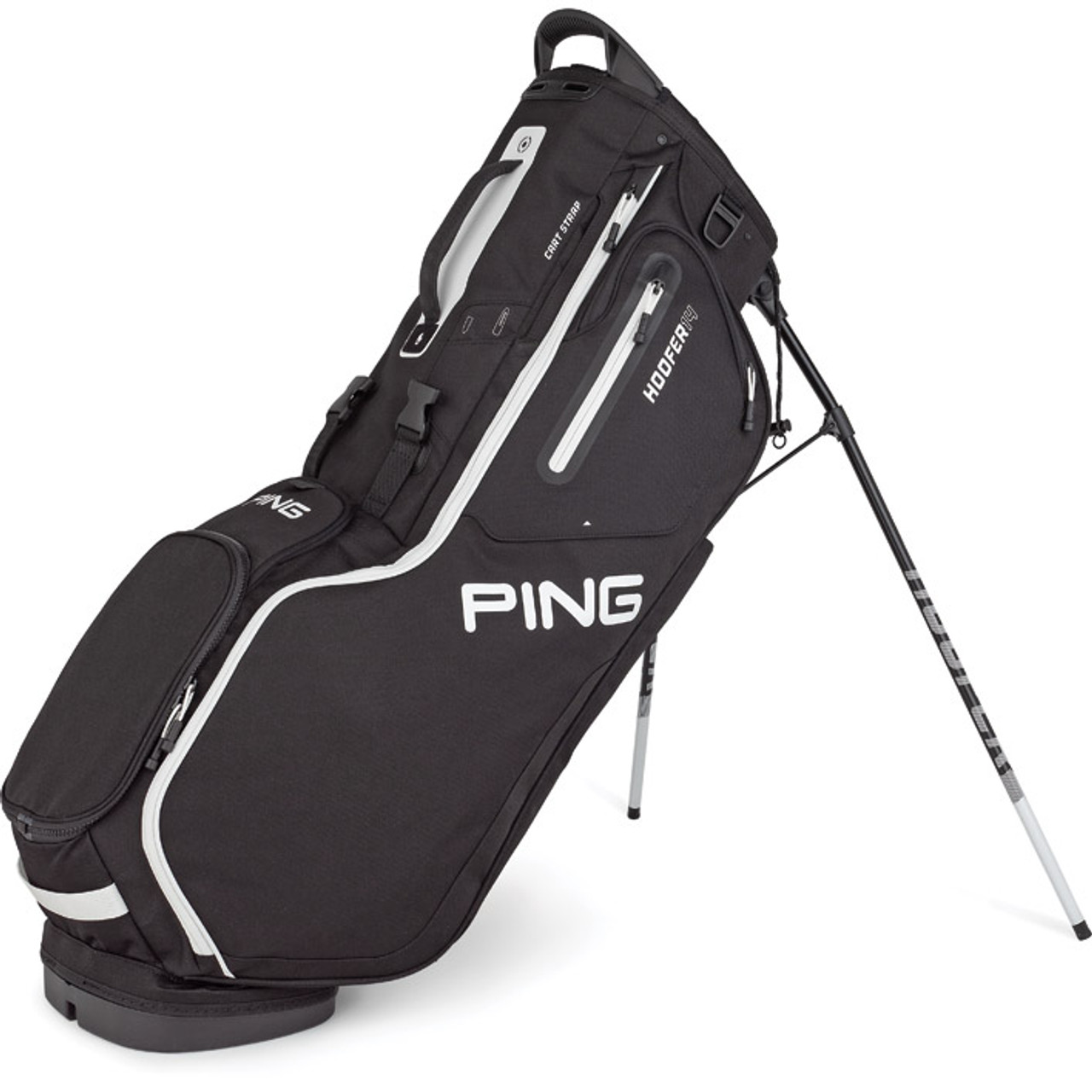 Ping Hoofer 14 Personalized Stand Bags - Black