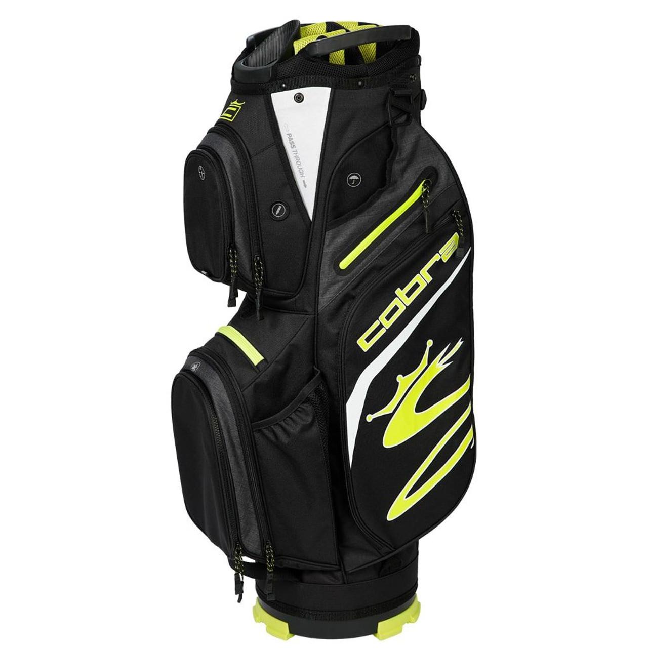 Cobra Ultralight Cart Bag - Black / Yellow