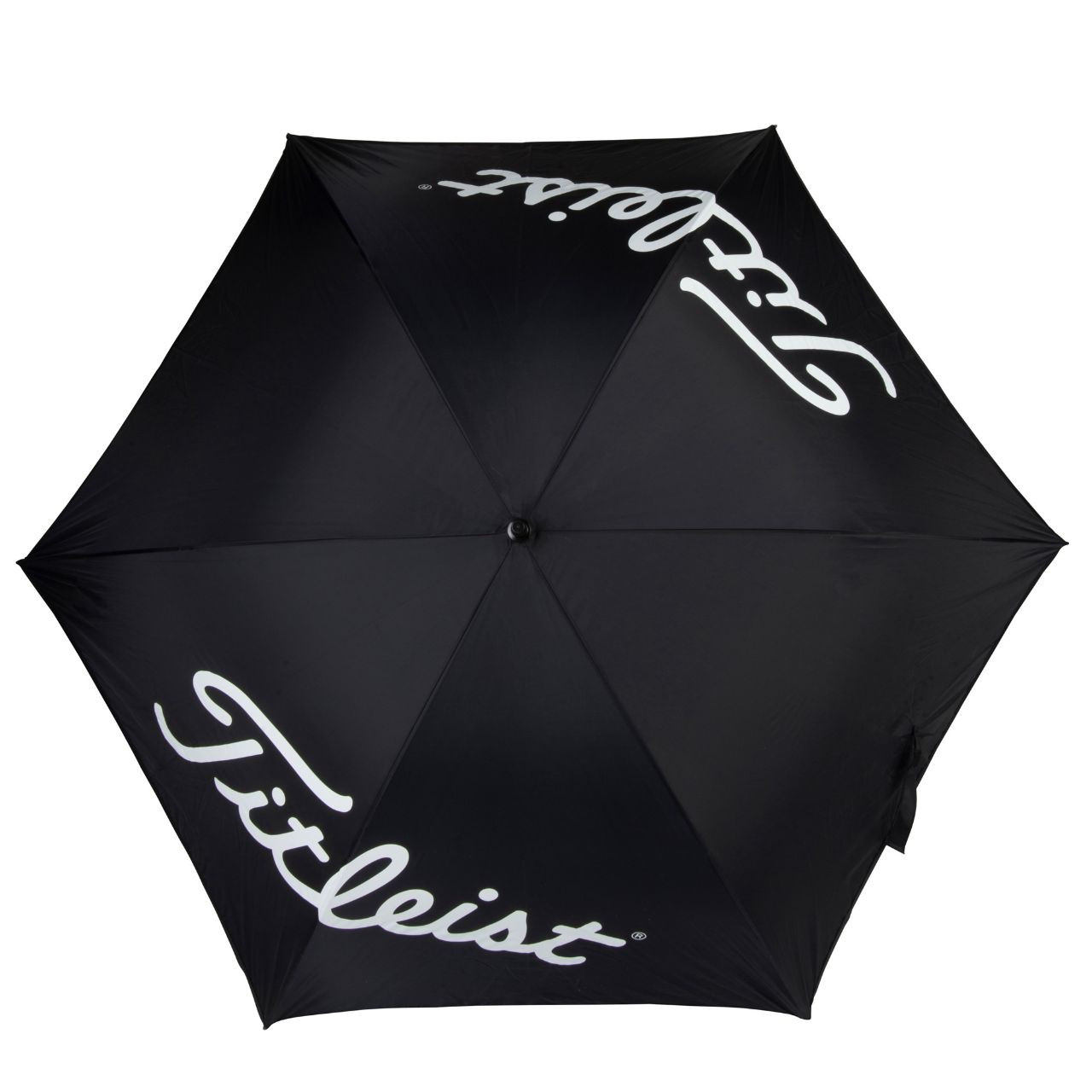 Titleist Players Single Canopy Umbrella - Black / White