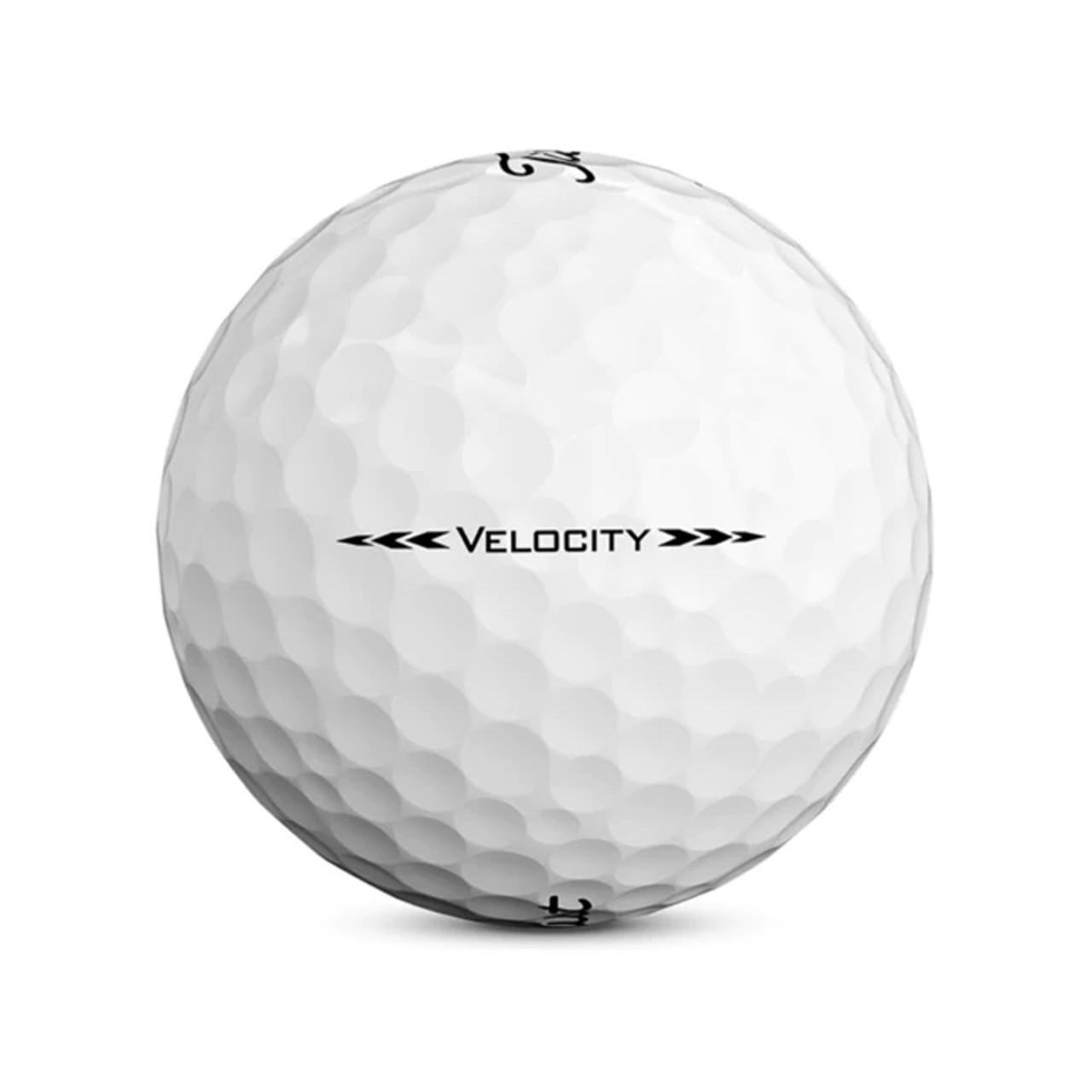 Titleist Velocity Personalized Dozen Golf Balls 2020