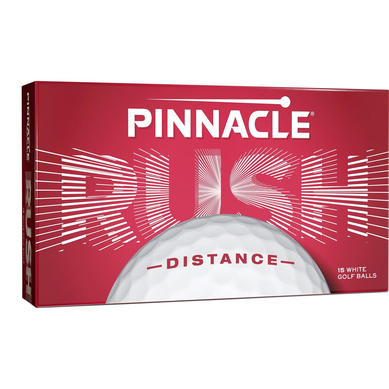 Pinnacle Personalized RUSH 15-Ball Pack - White