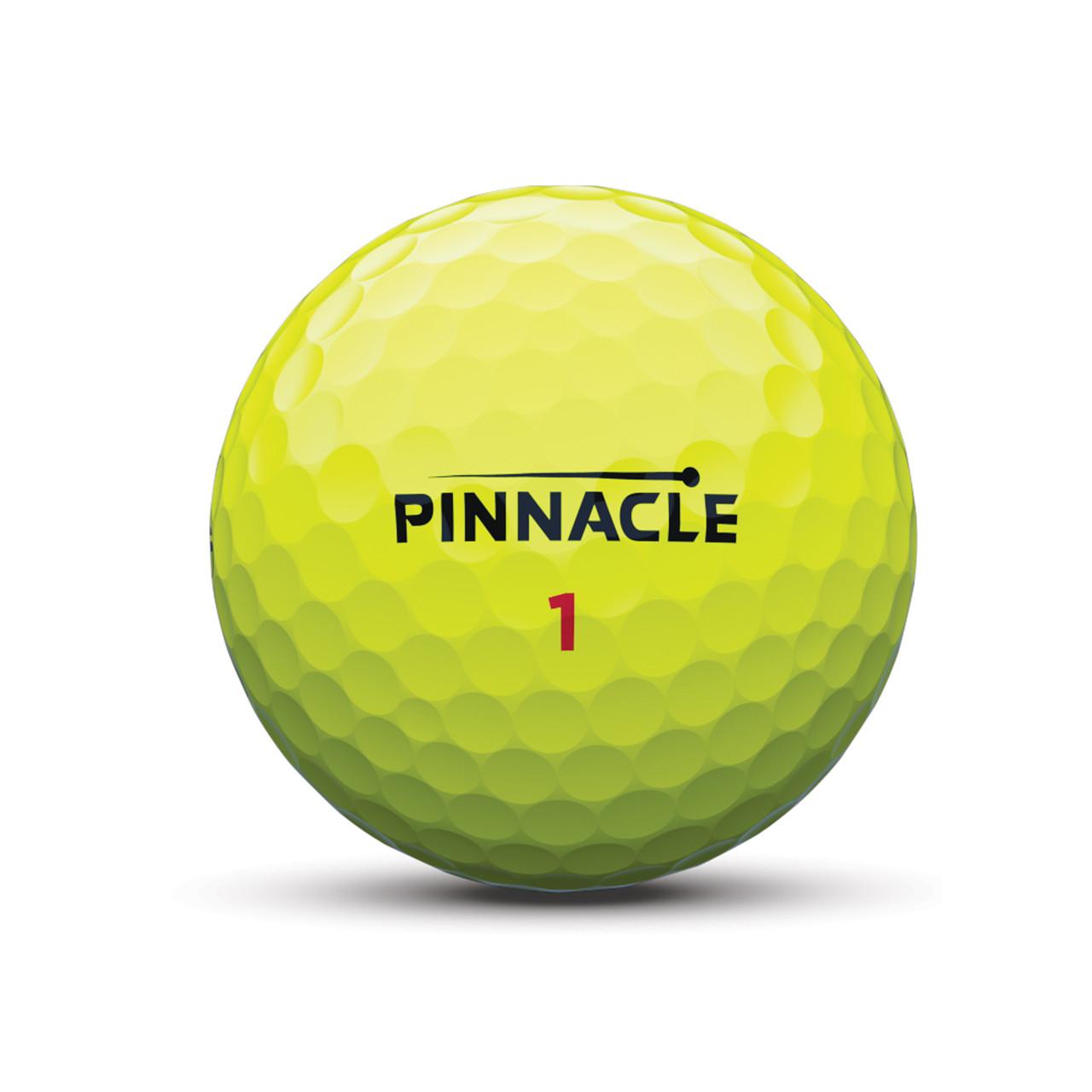 Pinnacle Personalized RUSH 15-Ball Pack - Yellow