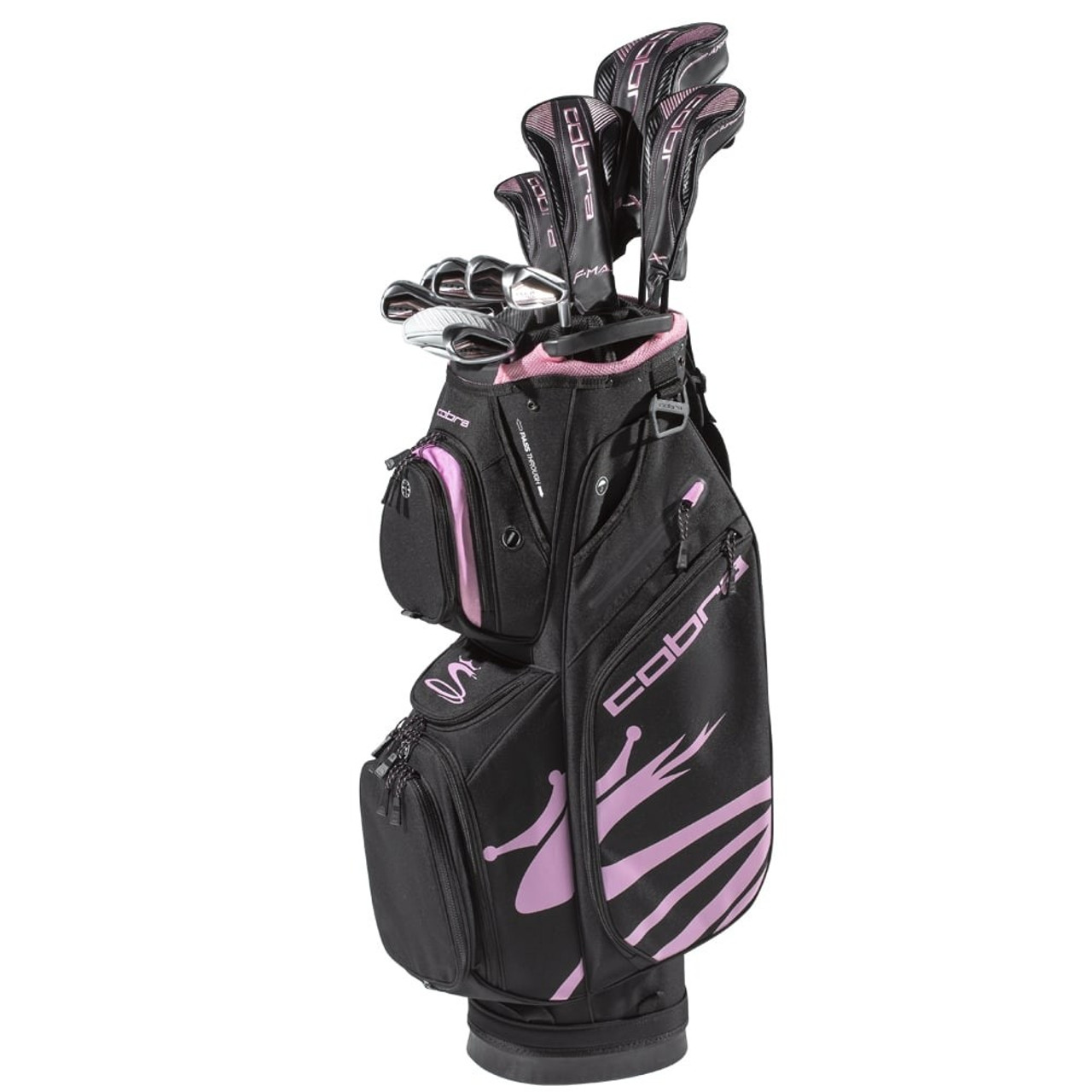 Cobra F-Max Airspeed Womens Complete Sets - Black / Lilac