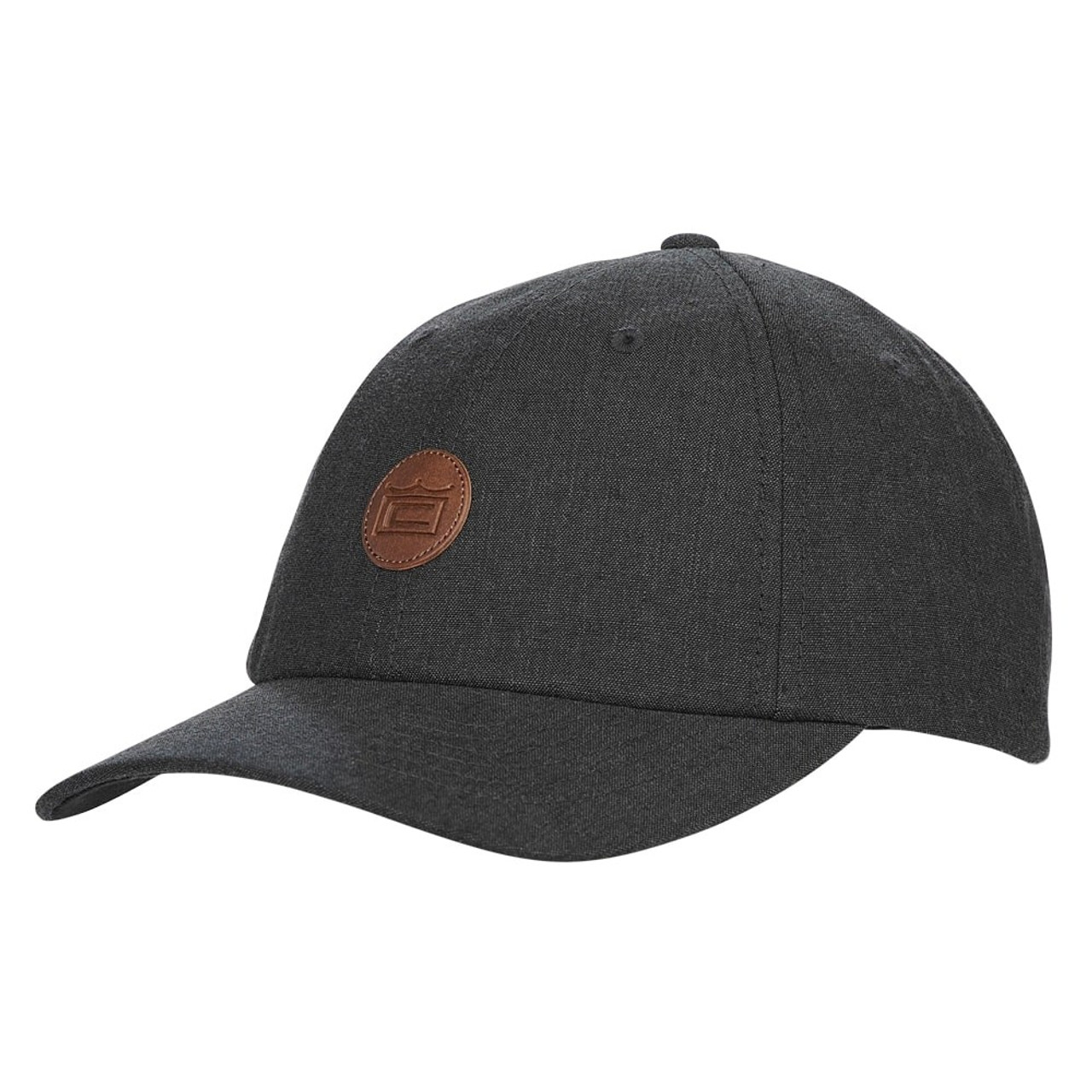 Cobra Crown Slouch Adjustable Cap - Black