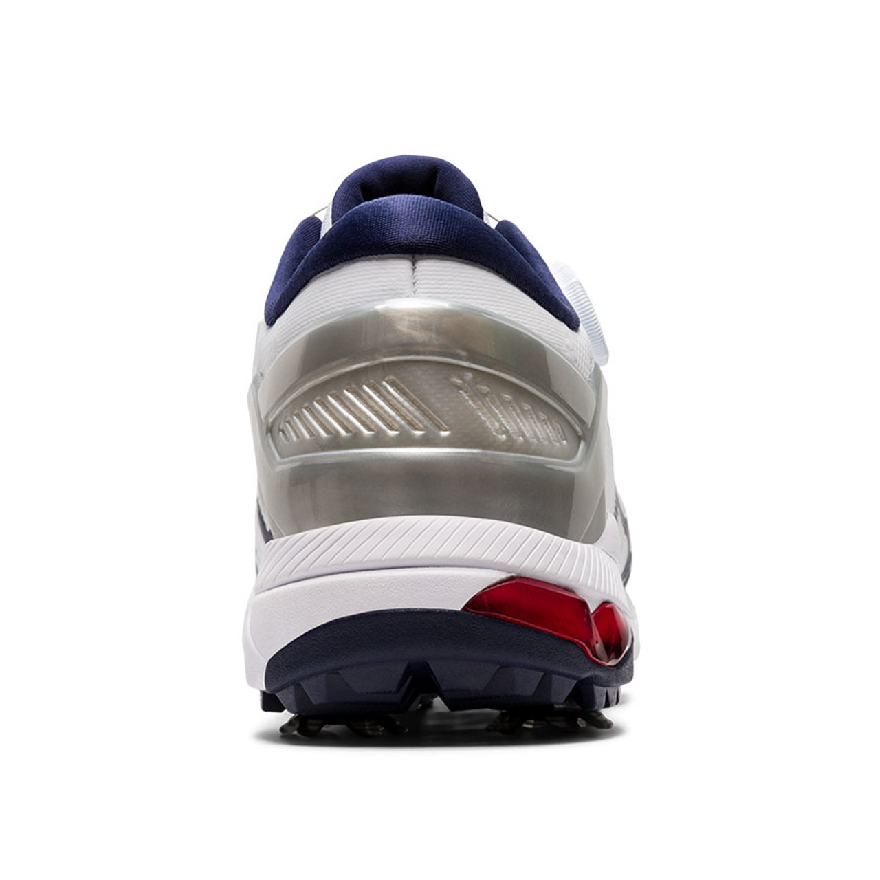 Asics Gel-Course Duo Boa Golf Shoes - White / Navy / Gray