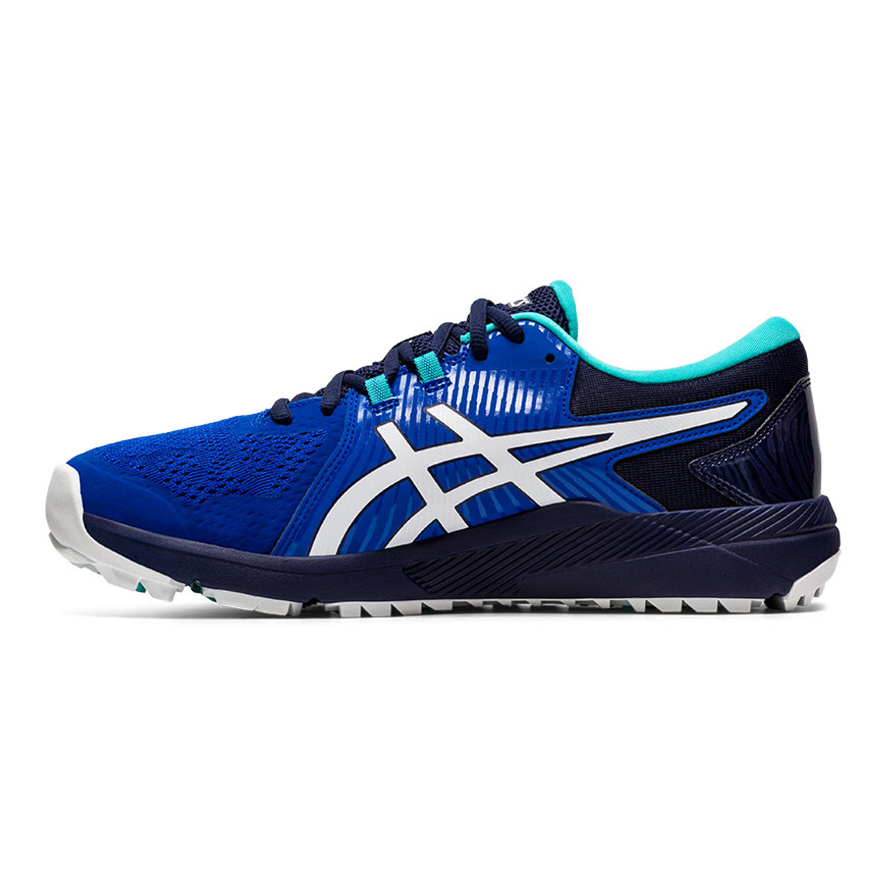 Asics Gel-Course Glide Golf Shoes - Royal / White / Teal