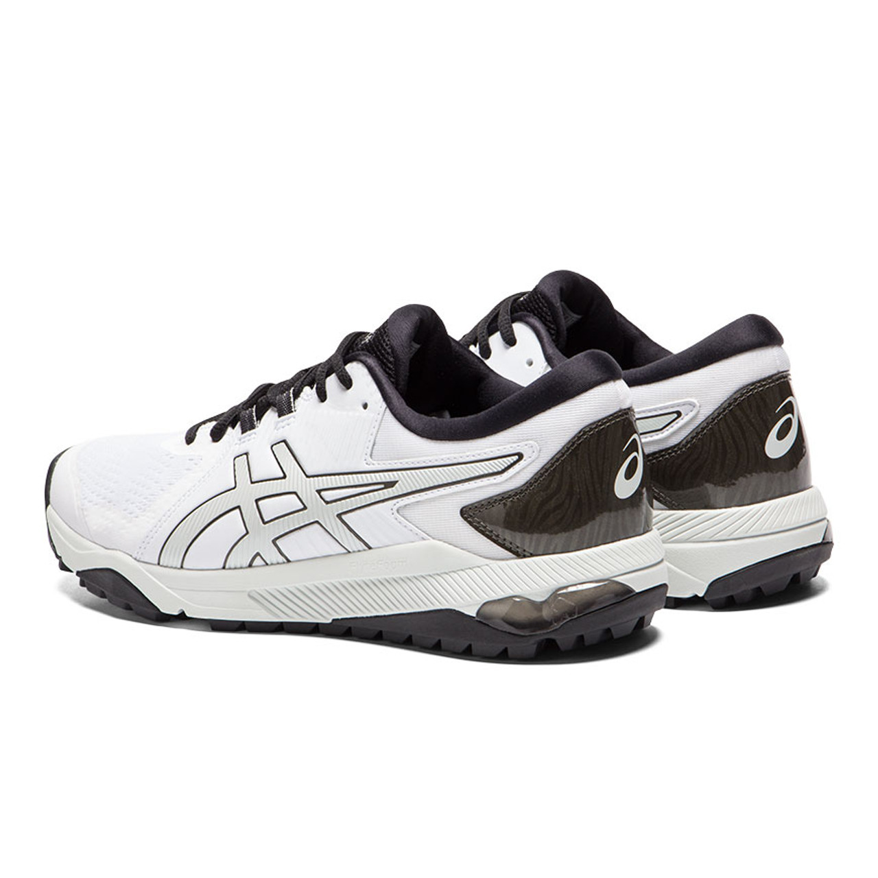 Asics Gel-Course Glide Golf Shoes - White / Silver / Black