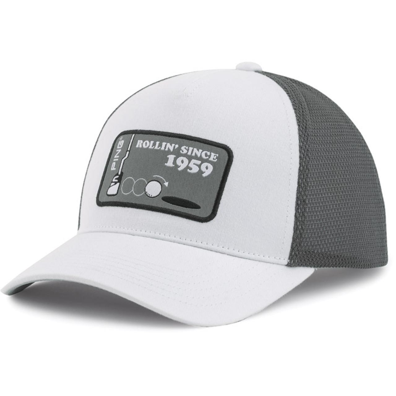 Ping Rollin 59 Cap - White