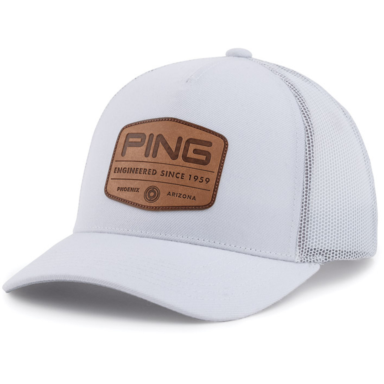 PING TG Patch Cap - White
