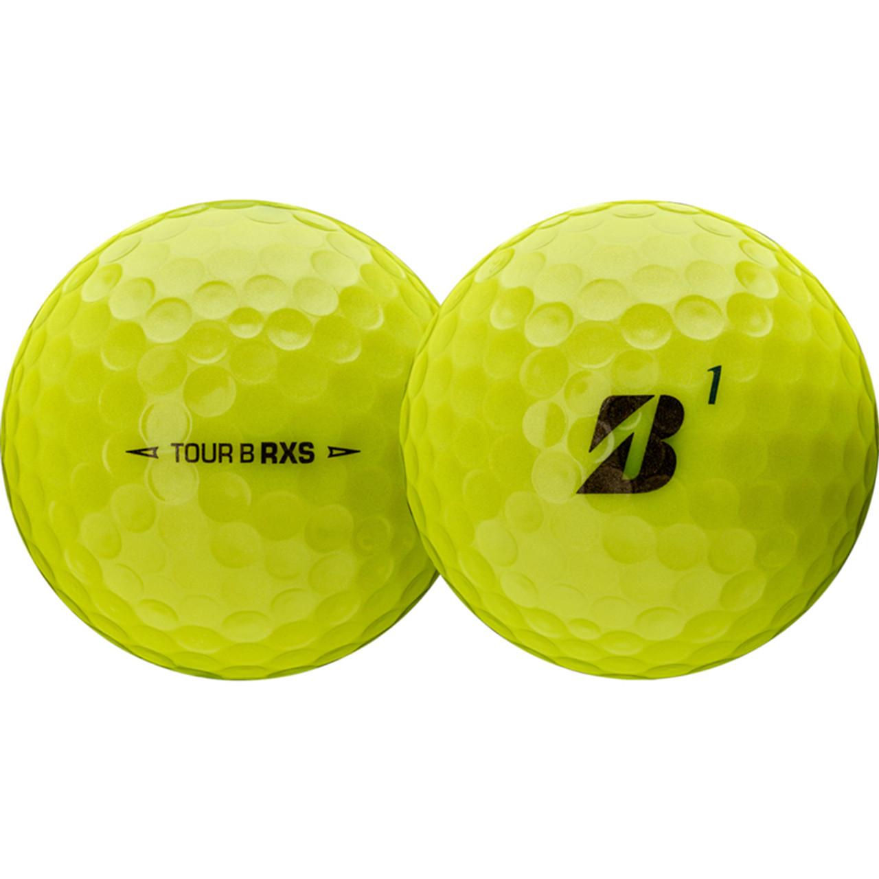 Bridgestone Tour B RXS Dozen Golf Balls 2020 - Yellow