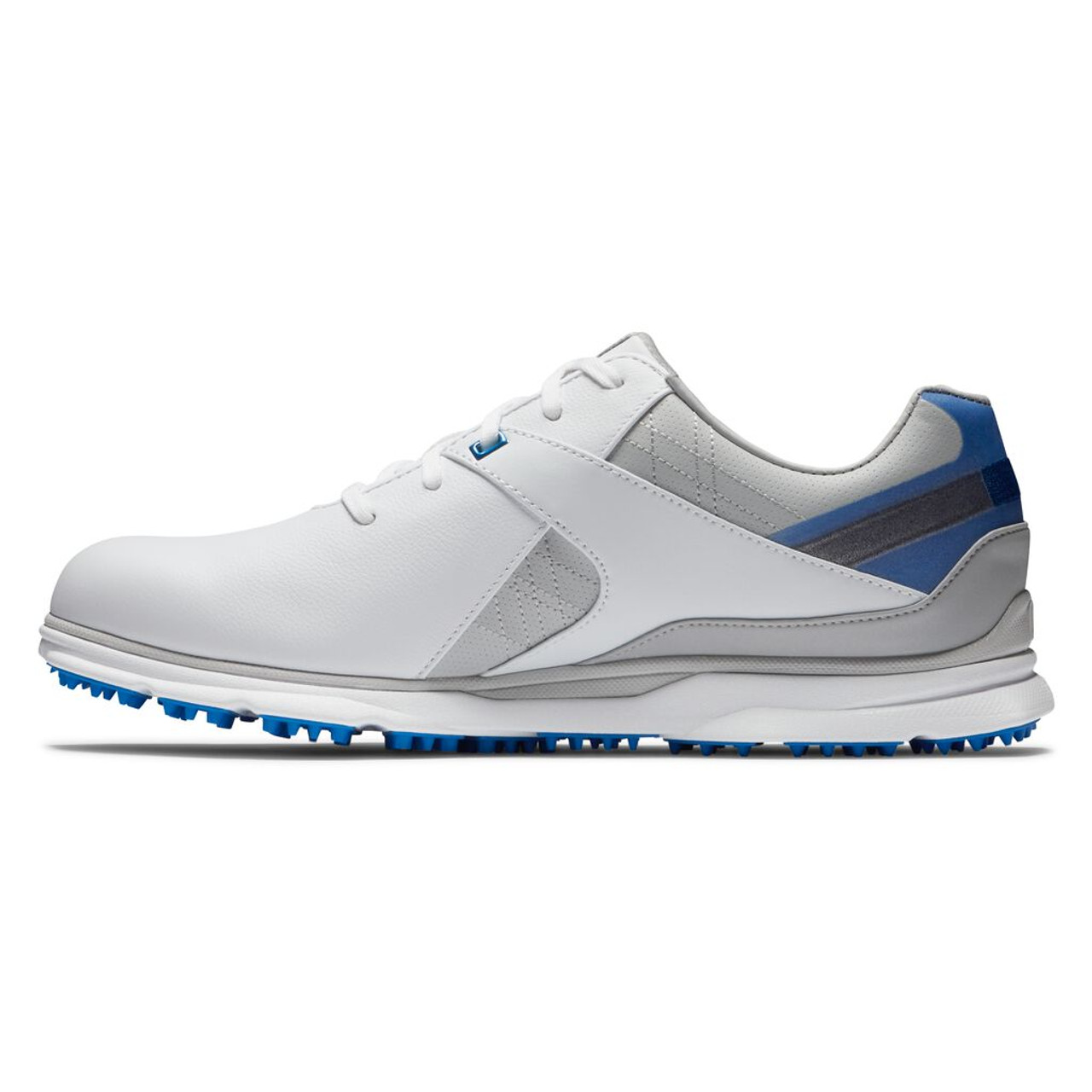 FootJoy Pro SL Golf Shoes - White / Blue / Grey (53811)