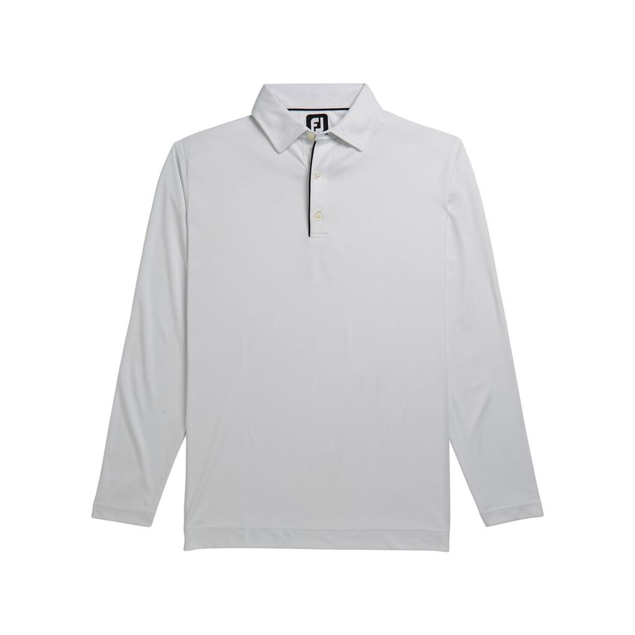 FootJoy Long Sleeve Sun Protection Shirt - White (26233)
