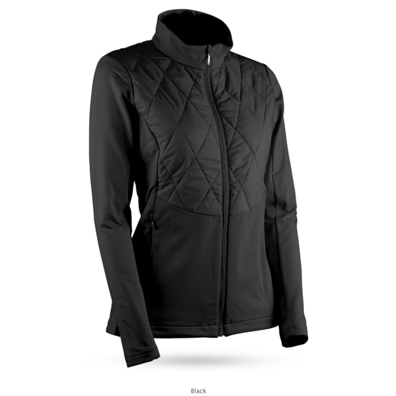 Sun Mountain Womens AT Hybrid Jacket - Black