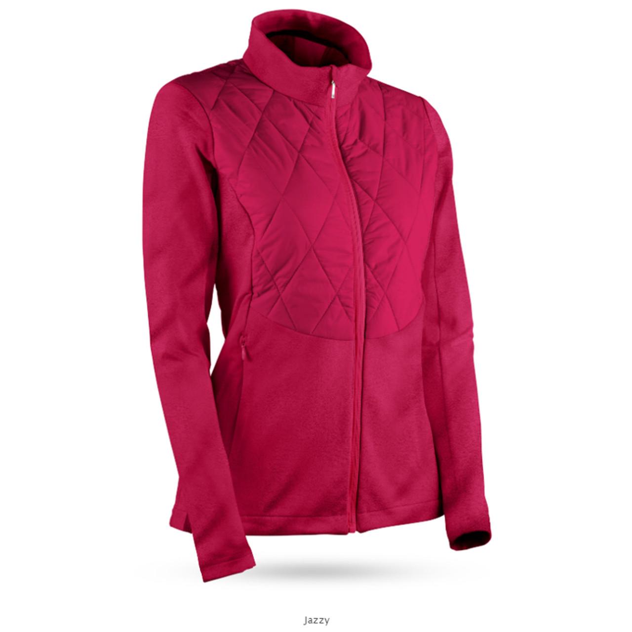 Sun Mountain Womens AT Hybrid Jacket - Jazzy